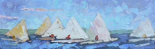 """""""Ragetta"""" original fine art by Carol Schiff"""