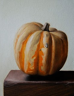 """Squash"" original fine art by Jonathan Aller"