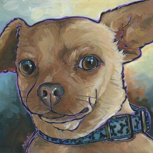 """Linnie"" original fine art by Nadi Spencer"