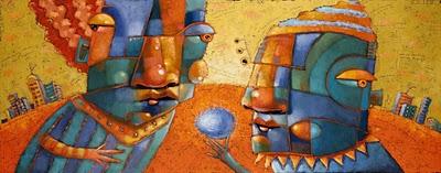 """""""Sweet Talker"""" original fine art by Brenda York"""