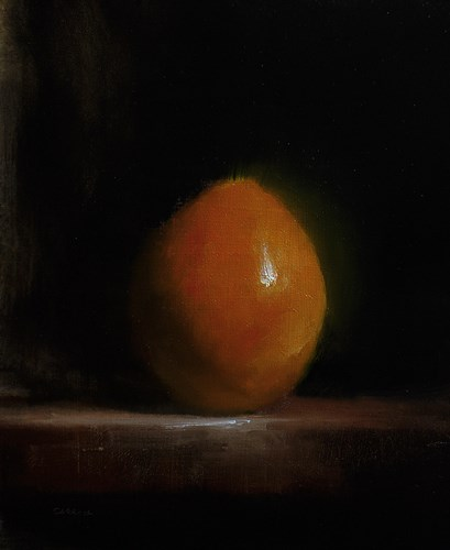 """Orange"" original fine art by Neil Carroll"