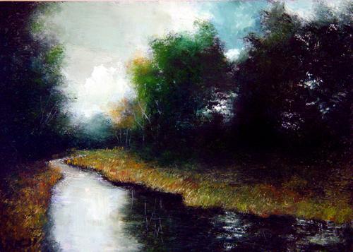 """""""Untitled"""" original fine art by Bob Kimball"""
