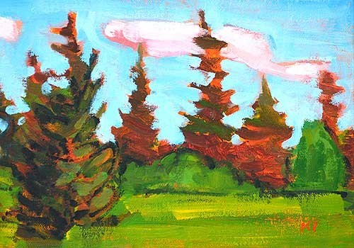 """Back to McCall"" original fine art by Kevin Inman"