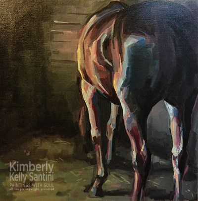 """Stevie"" original fine art by Kimberly Santini"