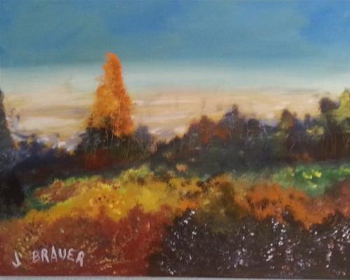 """Morning Shadows"" original fine art by Jack Brauer"