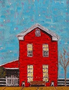 """Home"" original fine art by William Cook"