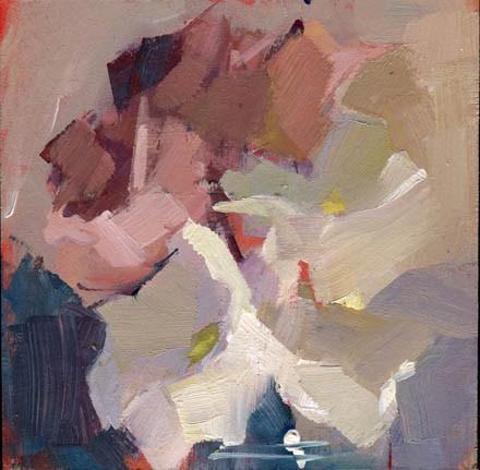 """1387 Gathering"" original fine art by Lisa Daria"