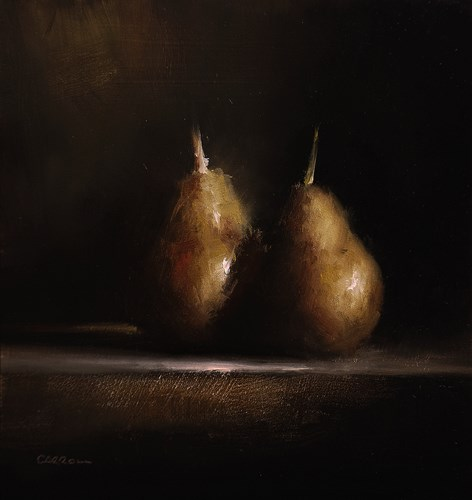 """Golden Pears"" original fine art by Neil Carroll"
