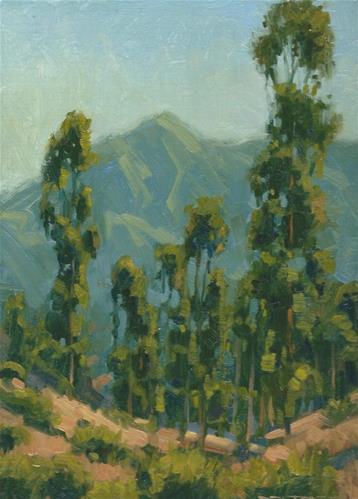 """Tam from Ridgeview"" original fine art by J. Thomas soltesz"