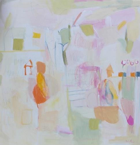 """At Home"" original fine art by Pamela Munger"