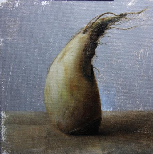 """Parsnip"" original fine art by Jonathan Aller"
