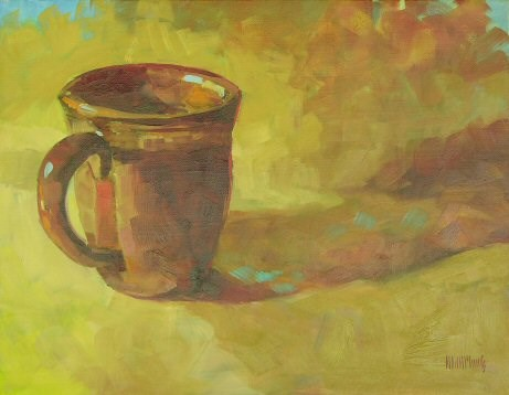"""Mug #5"" original fine art by Mary McInnis"