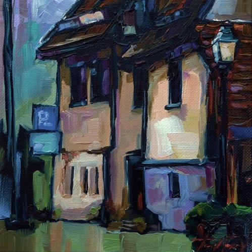 """""""Altstadt Tübingen"""" original fine art by Jurij Frey"""