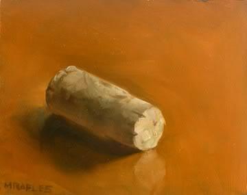 """Wine Cork"" original fine art by Michael Naples"