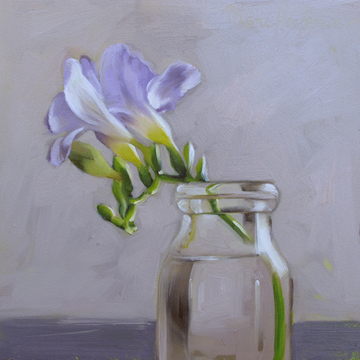"""""""Mull it Over Monday:  Applying 80/20 to Painting"""" original fine art by Diane Hoeptner"""
