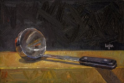 """Ladle"" original fine art by Raymond Logan"