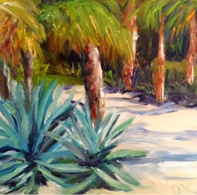 """""""Florida 5"""" original fine art by Debra Kennedy"""
