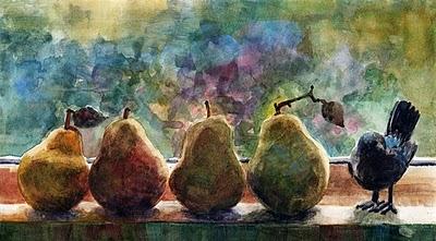 """Watercolor: The New Kid"" original fine art by Belinda Del Pesco"