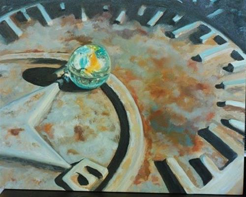 """Past Time"" original fine art by Beverley Phillips"
