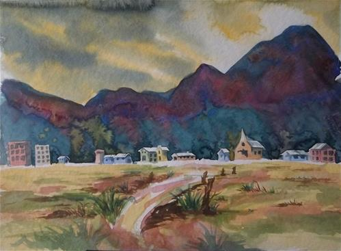 """""""Storm"""" original fine art by Becky Chappell"""