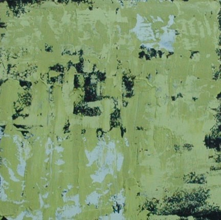 """GREEN"" original fine art by Linda Popple"