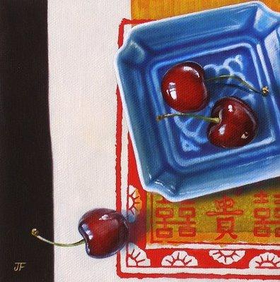 """Auspicious"" original fine art by Jelaine Faunce"
