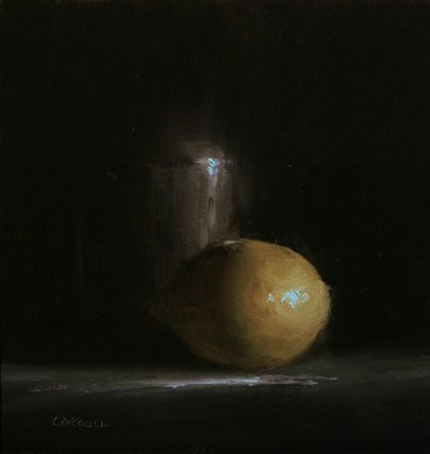 """Pewter with Lemon"" original fine art by Neil Carroll"