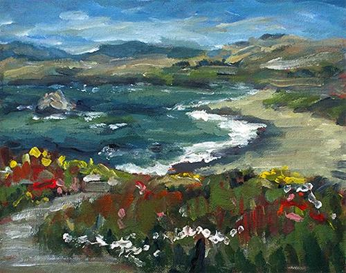 """Sonoma Coast"" original fine art by J. Farnsworth"
