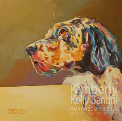 """Patience"" original fine art by Kimberly Santini"