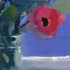 """#1047 Green"" original fine art by Lisa Daria"
