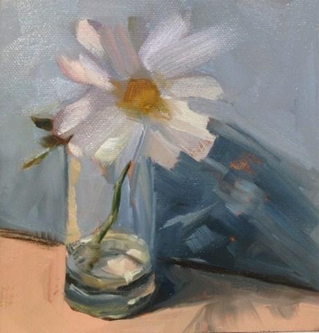 Fresh As A Daisy original fine art by Julie Kirkland