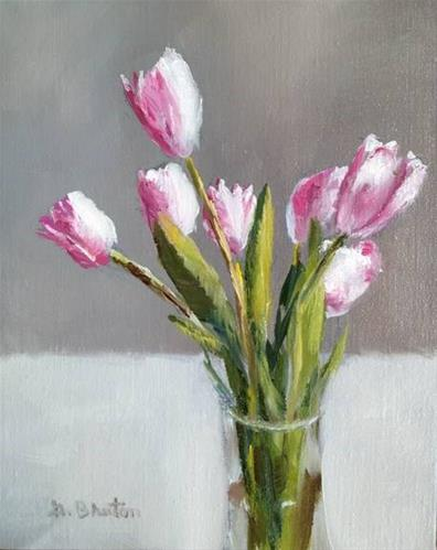 """Tulips"" original fine art by Gary Bruton"