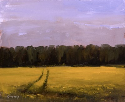 """Rapeseed Field"" original fine art by Neil Carroll"