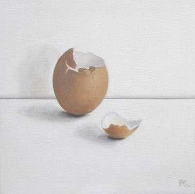 """The Egg Saga 1"" original fine art by Pera Schillings"