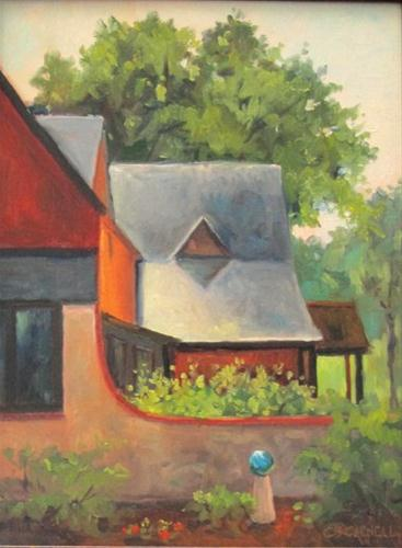 """""""SOLD! CURVES An Original Plein Air Oil Painting by Claire Beadon Carnell"""" original fine art by Claire Beadon Carnell"""