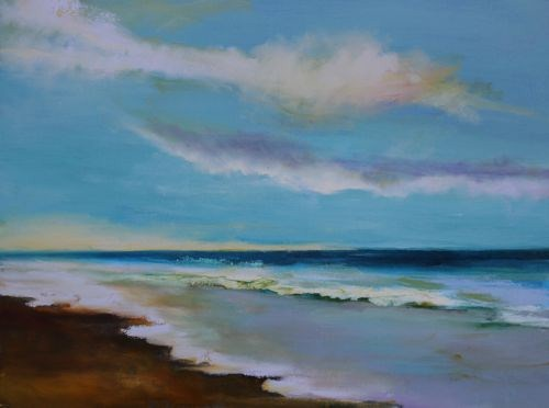 """Glorious, Seascape Paintings by Arizona Artist Amy Whitehouse"" original fine art by Amy Whitehouse"