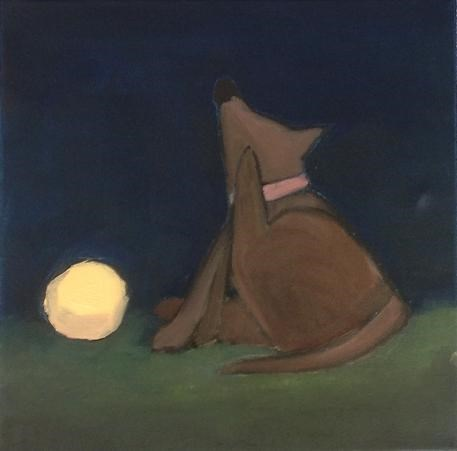 """Night Play"" original fine art by christina glaser"