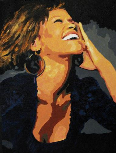 """The Voice"" original fine art by Nan Johnson"