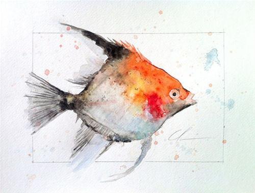 """New Watercolors"" original fine art by Clair Hartmann"
