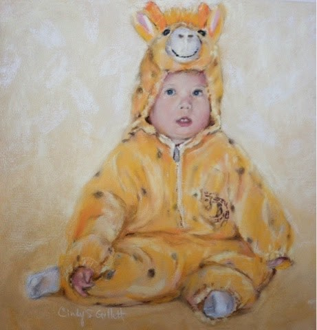"""Do I Really Have To Wear This?"" original fine art by Cindy Gillett"