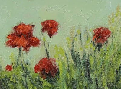 """Poppies"" original fine art by Susan Fowler"