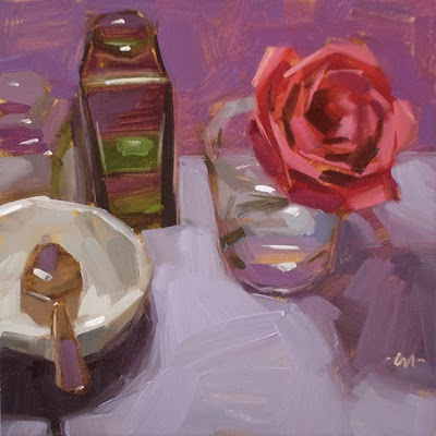 """Too Beautiful"" original fine art by Carol Marine"