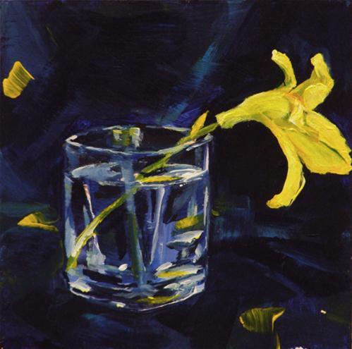 """daylily"" original fine art by Brian Cameron"