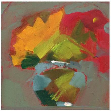"""2697 Stencil"" original fine art by Lisa Daria"