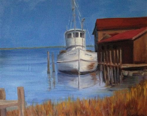 """Chesapeake Bay"" original fine art by Debra Kennedy"