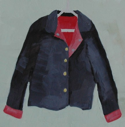 """JACKET"" original fine art by Linda Popple"