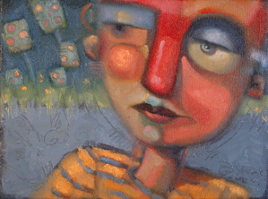 """Inside The Secret"" original fine art by Brenda York"