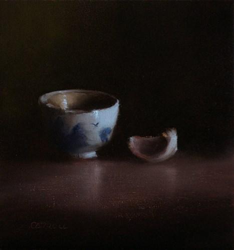 """""""Finger Bowl and Clove"""" original fine art by Neil Carroll"""
