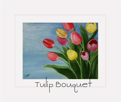 """Tulip Bouquet by Sunny Williams"" original fine art by Sunny Williams"