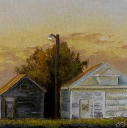 """""""Farmyard Light"""" original fine art by ~ces~ Christine E. S. Code"""